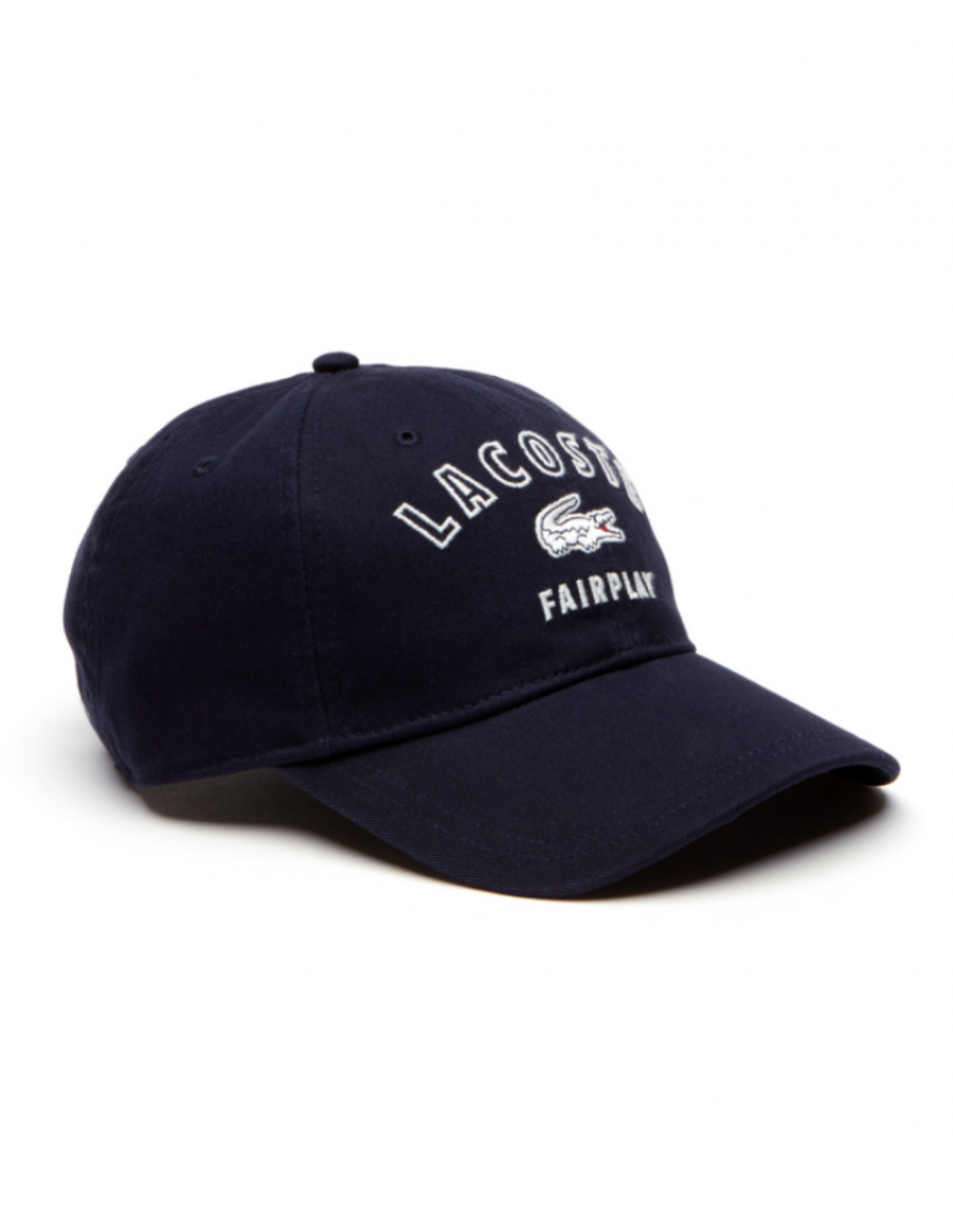 Lacoste hat - Fairplay - navy blue
