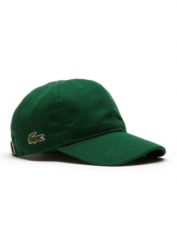 2c98e43a528 Lacoste hat - Gabardine cap - Dark Green - €34