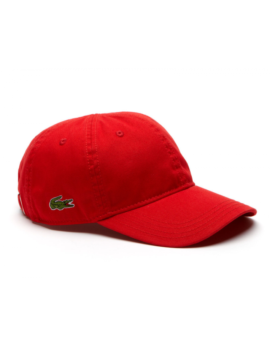 Lacoste hat - Gabardine cap - rouge red