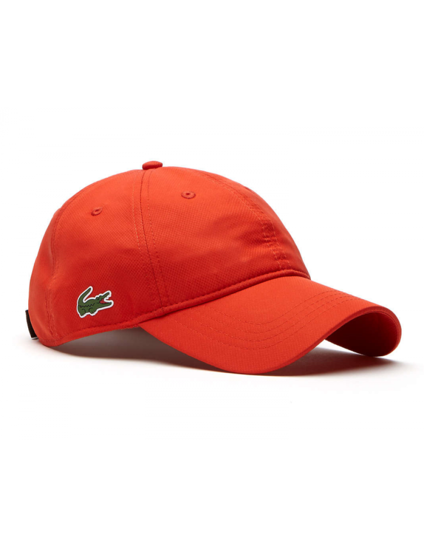 b307d9e6f0b Lacoste hat - Sport cap diamond - etna orange - €34