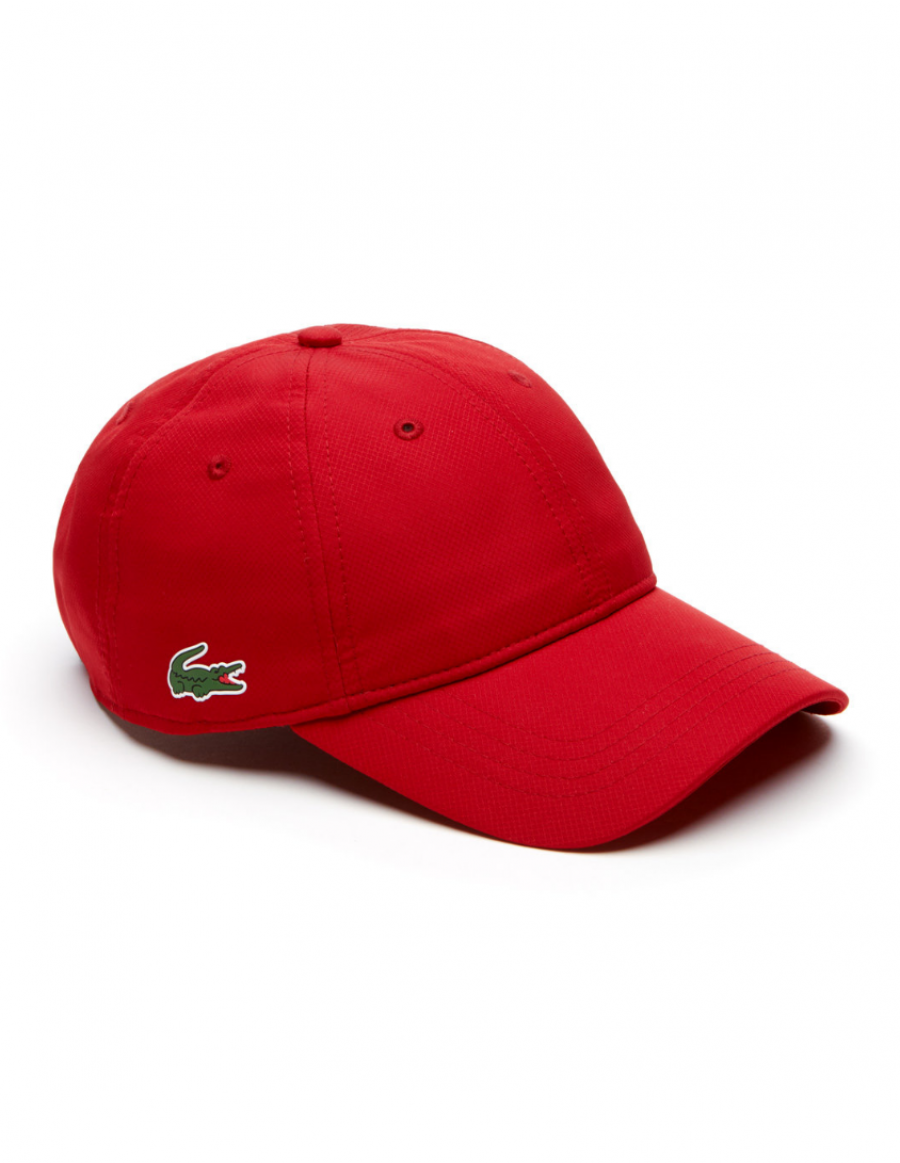 Lacoste hat - Sport cap diamond - red