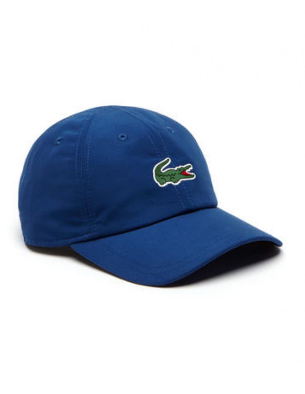 Lacoste hat - Sport Microfiber Crocodile - Marino