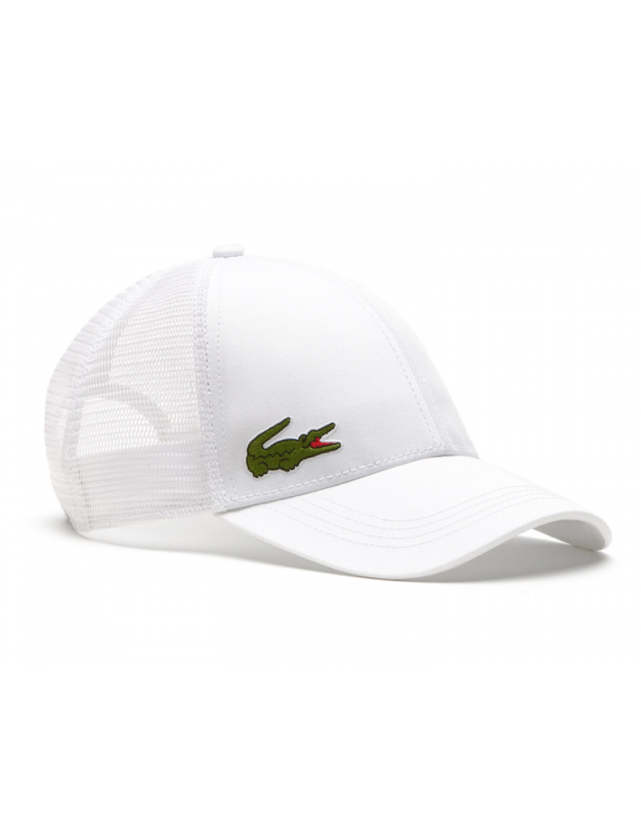 Lacoste hat - Trucker cap - white
