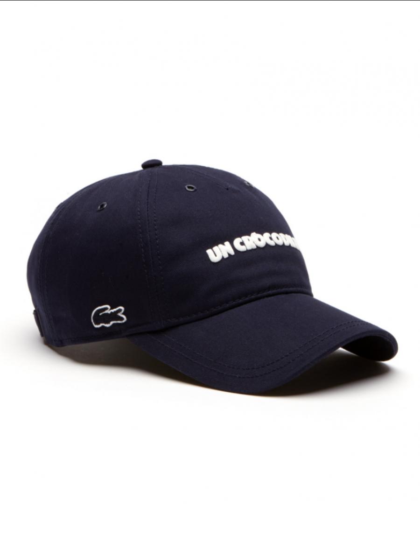 Lacoste hat - Un Crocodile - navy