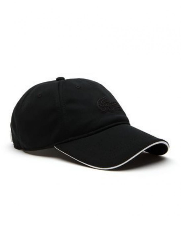 Lacoste hat - Big croc - noir black