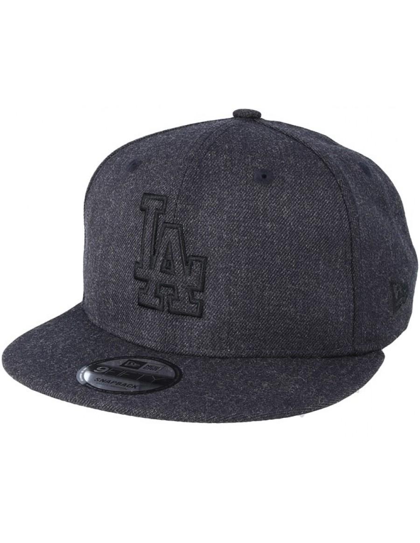 New Era 9Fifty MLB Heather Essential (950) LA Los Angeles Dodgers - Darkblue db6e36e3eaa