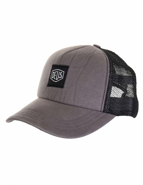 DEUS Mavis Trucker cap - Grey