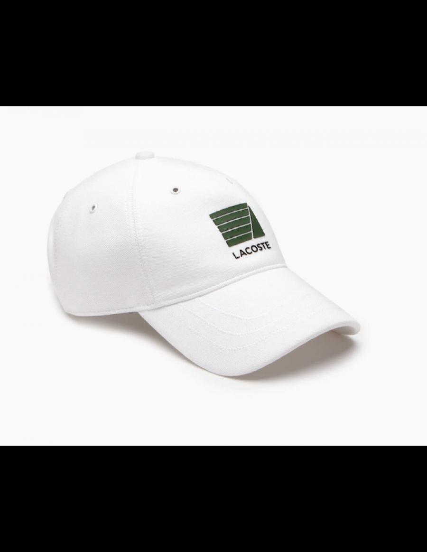 Lacoste cap - Nautisch badge - White