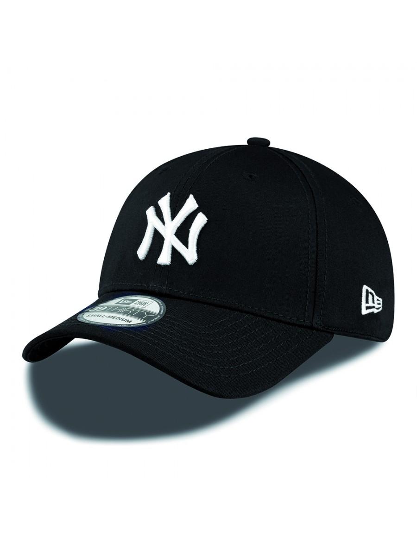 New Era 39Thirty Curved cap (3930) NY New York Yankees - black white