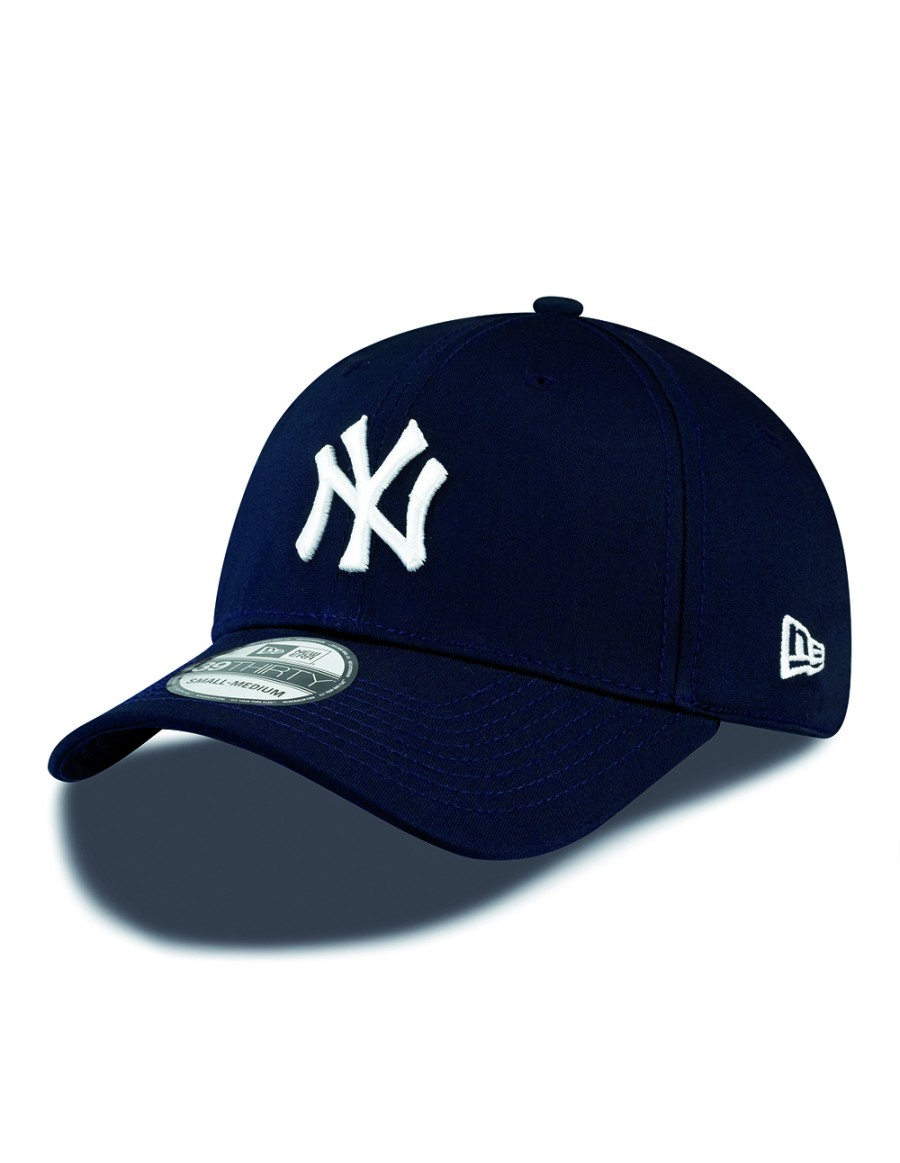 New Era 39Thirty Curved cap (3930) NY New York Yankees - navy + LOW ... 98a933fd340