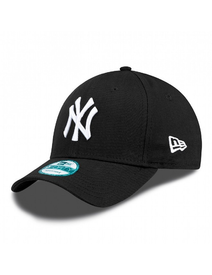 New Era 9Forty Curved cap (940) NY New York Yankees - black + LOW ... 00b883662697