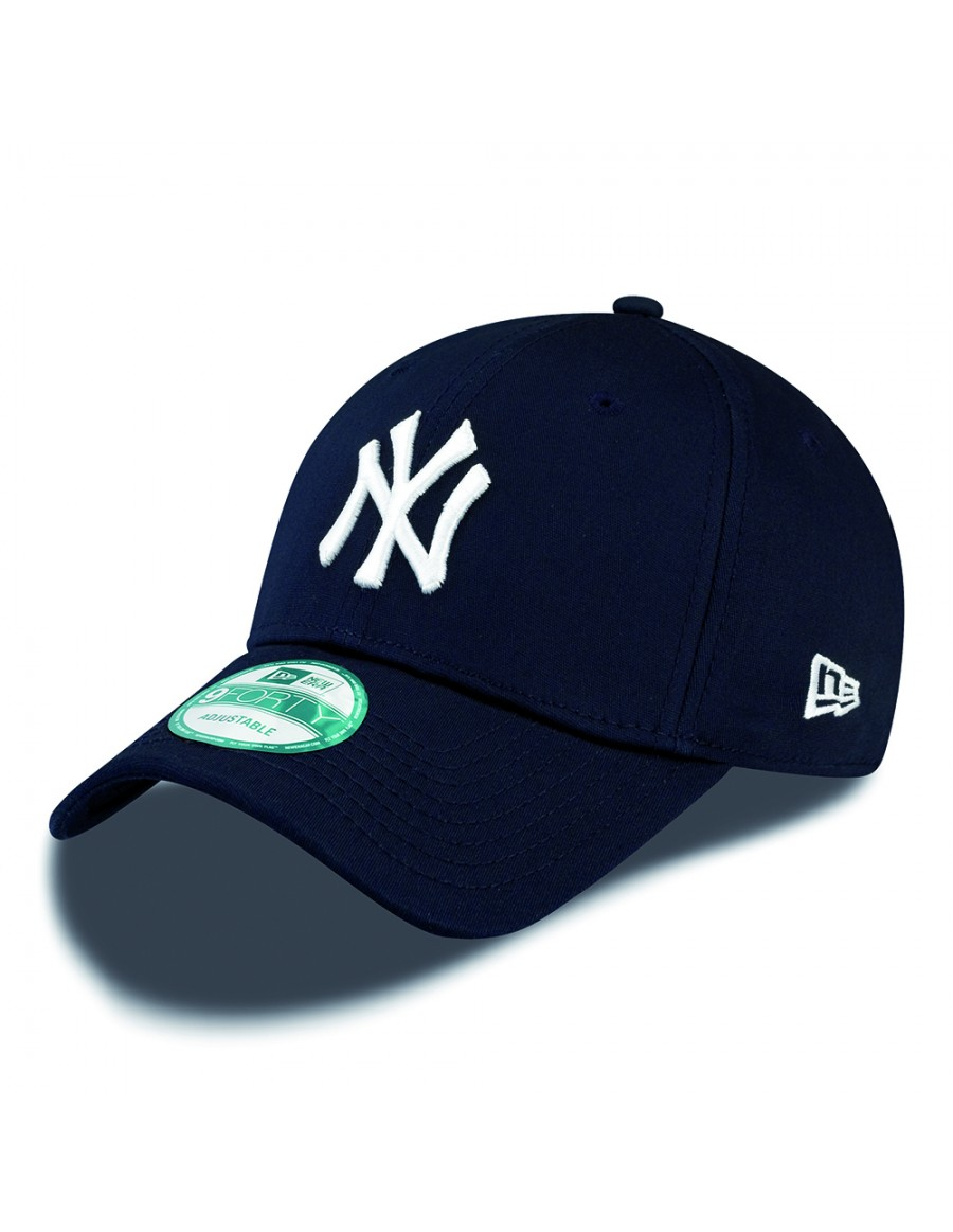 42075c21af3 New Era 9Forty Curved cap (940) NY New York Yankees - navy + LOW ...