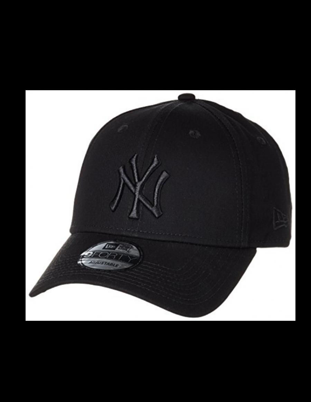 New Era 9Forty Curved cap (940) NY Yankees - Black on black