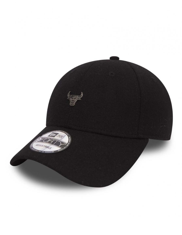 New Era 9Forty Pin Badge (940) Chicago Bulls Black