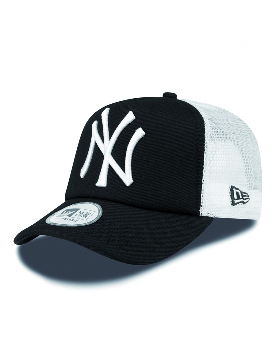 c84b8a9d9df8a New Era Trucker cap NY New York Yankees - black + LOW shippingcosts