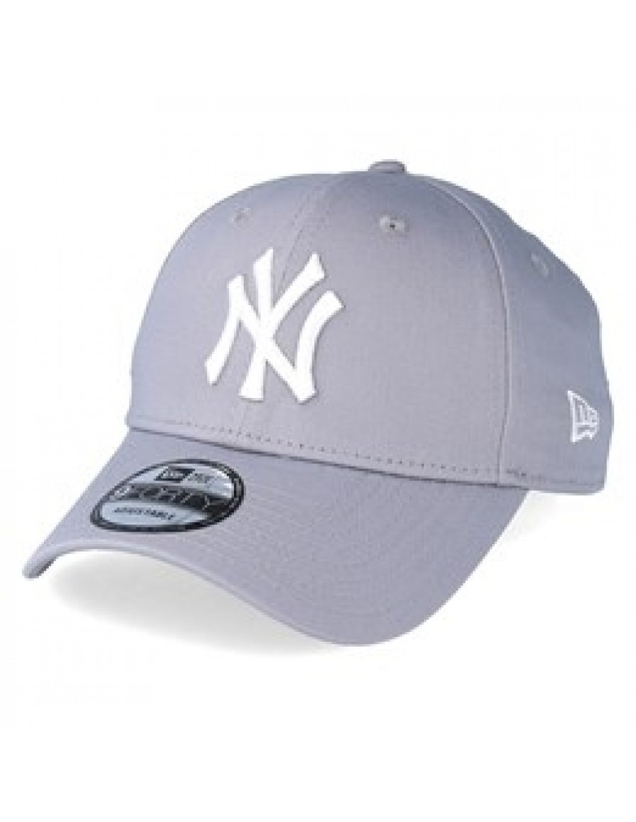 3c5ace41294d5e New Era 9Forty Curved cap (940) NY New York Yankees Kids - Grey ...
