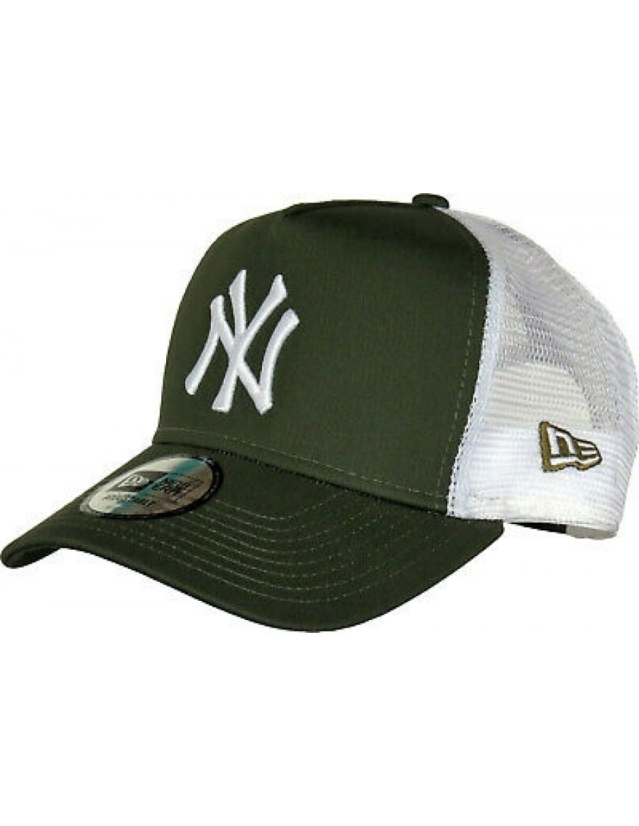 New Era Trucker cap NY New York Yankees - Olive