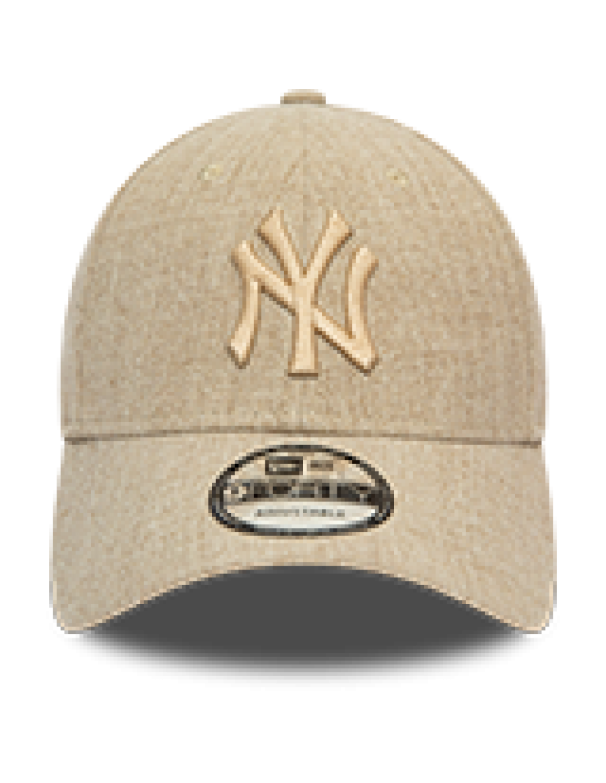 New Era 9Forty (940) Winterized NY Yankees - Beige