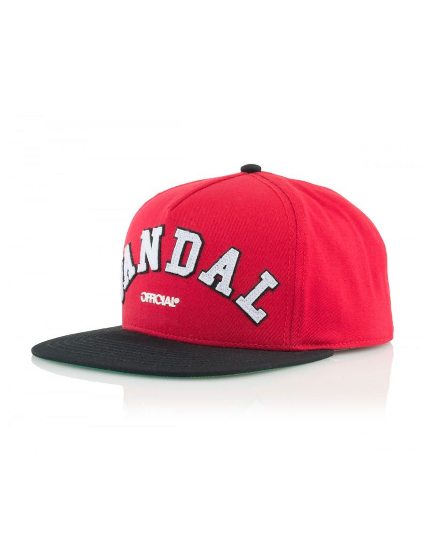 Official Cap Chiraq Vandal Snapback - red