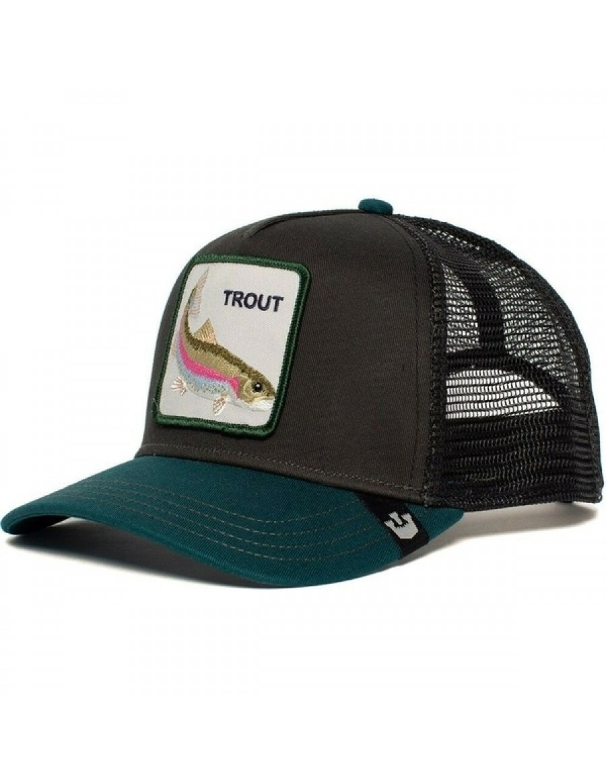 Goorin Bros. Rainbow Trout Trucker cap - Black