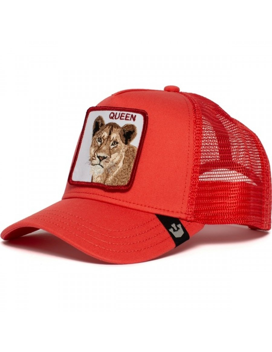 Goorin Bros. Strong Queen Trucker cap - Coral