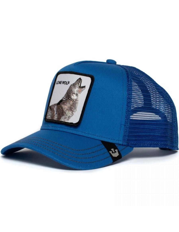 Goorin Bros. Strong Wolf Trucker cap - Blue