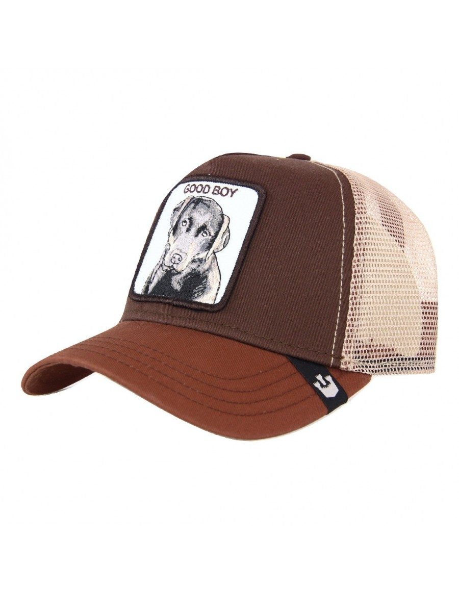 Goorin Bros. Sweet Chocolate Trucker cap - Brown