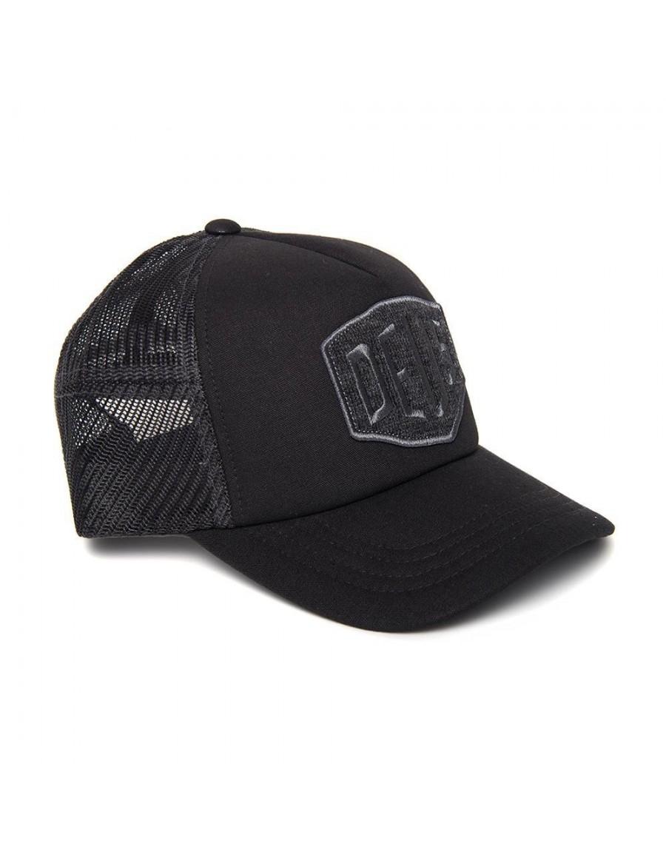 DEUS Terry Shield Trucker cap - Charcoal Grey