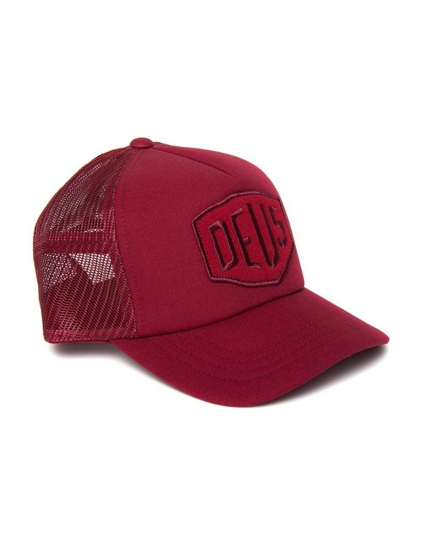 DEUS Terry Shield Trucker cap - Cardinal Red