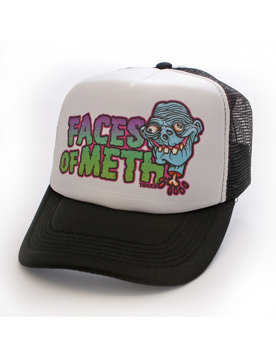 Toxico Faces Of Meth 1 trucker cap - Sale