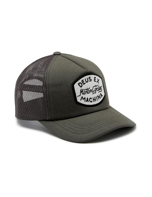 DEUS Vrod Trucker cap - Clay