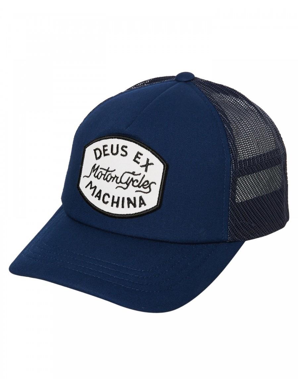 DEUS Vrod Trucker cap - Navy