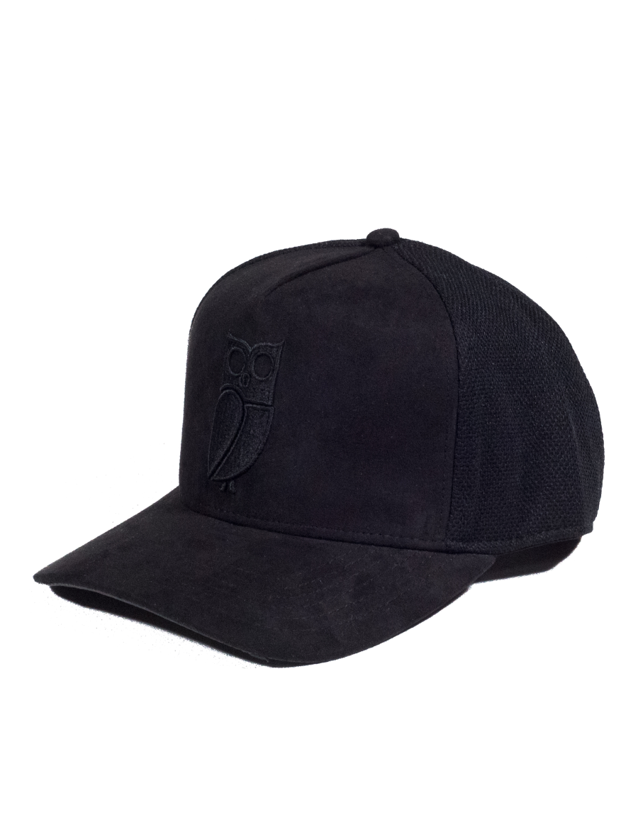 e05c9400695 NVLTY London Suede cap Curved - black - €34.95 + LOW shippingcosts