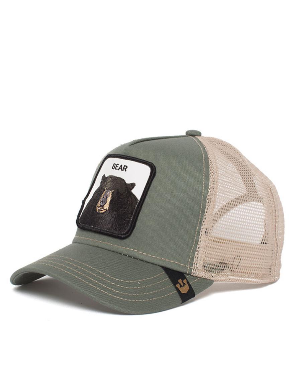 7eb6e344d Goorin Bros. Black Bear Trucker cap - Olive