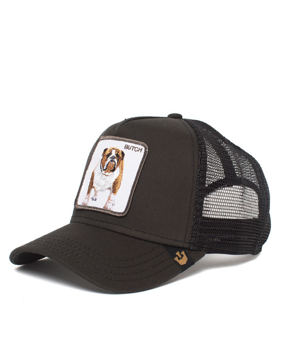 c75e7faf Goorin Bros. Butch Trucker cap - Black - €39,95 + LOW shippingcosts