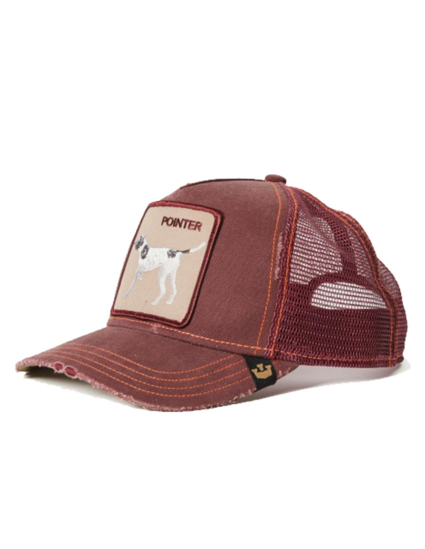 Goorin Bros. The Pointer Trucker cap - Wine - €34 304df4eb3be2