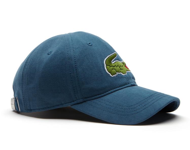2902139b23eb Lacoste hat - Big Croc Gabardine - legion blue - €44