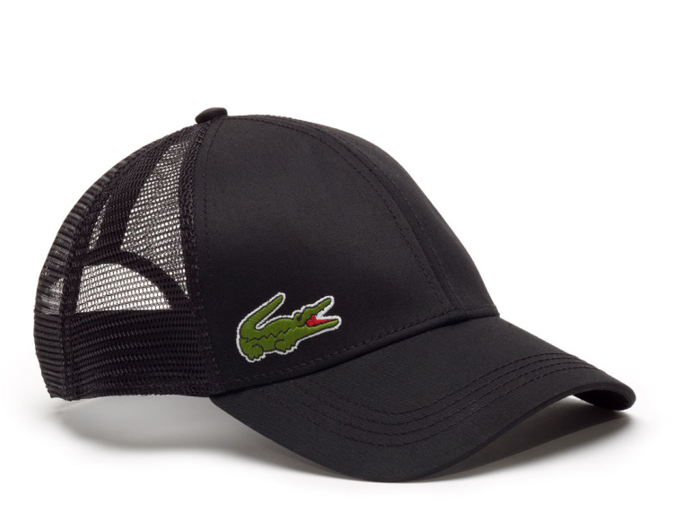 6ae46b3ca Lacoste hat - Trucker cap - black + LOW shippingcosts