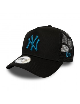 New Era League Essential AF Trucker cap NY Yankees - Blue on Black