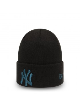 New Era League Essential Cuff Knit New York Yankees - Black/Blue
