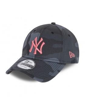 New Era 9Forty All over Camo (940) NY Yankees - Black