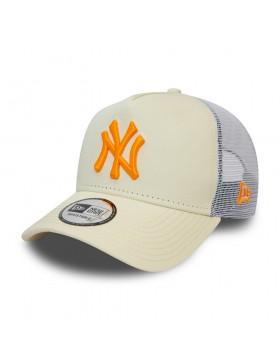 New Era League Essential Trucker cap NY Yankees - White