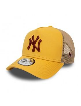 New Era League Essential Trucker cap NY Yankees - Yellow