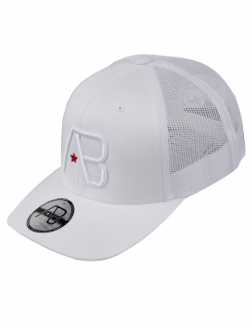 AB cap Retro Trucker - white