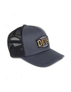 DEUS American Twin Trucker cap - Phantom Black