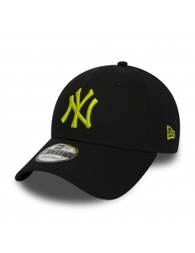 New Era 9Forty Curved cap (940) NY Yankees - Black n Yellow