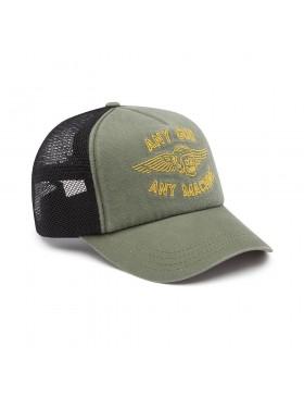 DEUS Brigade Trucker cap - Olive