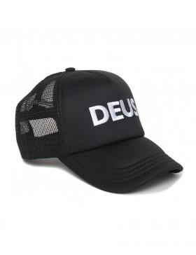 DEUS Caps Trucker cap - Black