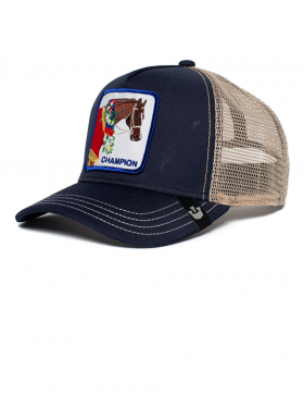 Goorin Bros. Champion Trucker cap - Blue