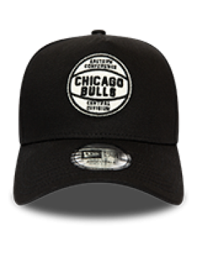 New Era NBA Felt Patch Chicago Bulls - Black